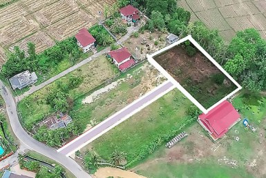 Building plot for sale in San Sai