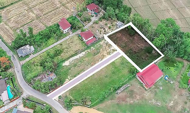 Building plot for sale in San Sai