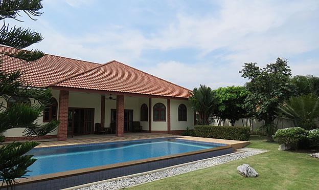 home with pool for sale in San Sai