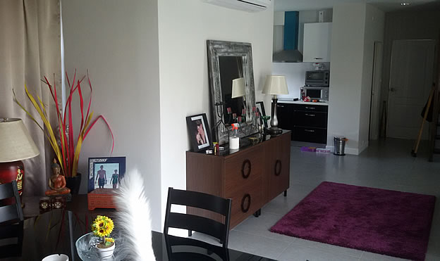 home for rent along San Kamphaeng Road