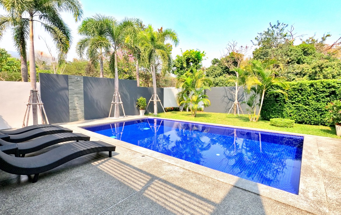 New house with pool for sale in Chiang Mai