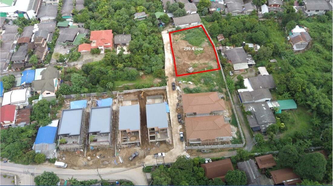 Land plot for sale in Chiang Mai city